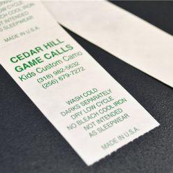 2FS tyvek materials labels (4)