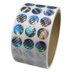 3D hologram címkék