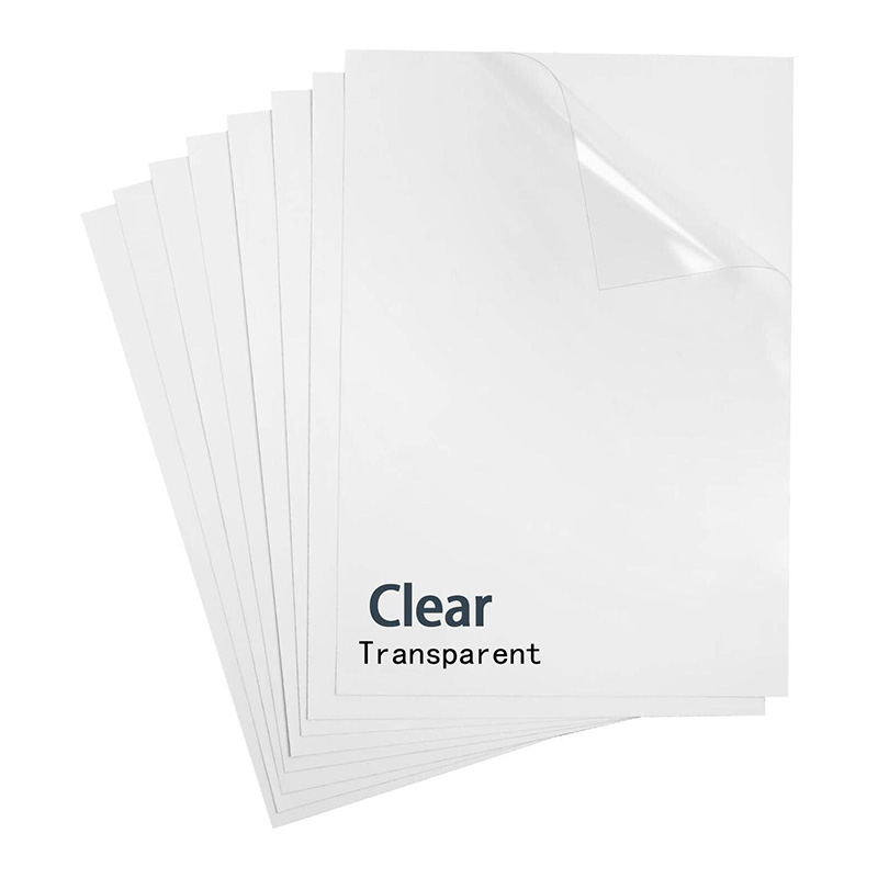 A4 sticker self adhesive glossy paper for inkjet printer