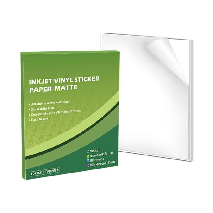 A4 waterproof paper printable vinyl inkjet glossy paper sticker