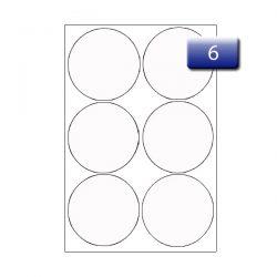 Art laser printer paper label