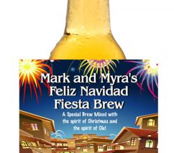 CCBL016 beer can label