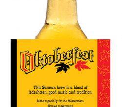 CCBLR020 wet strength paper beer label