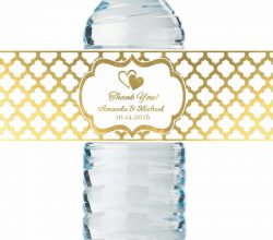 CCHG080 glass bottle water private label