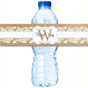 CCHG080-vitra botela akvo privata etikedo