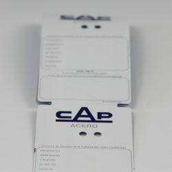 CCHLPETG040 heat resistant sticker