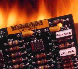 CCHLPI025 high temperature resistant label