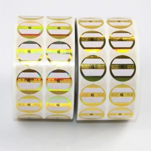 CCHLPR020-hologramo 10ml-flakona etikedisto