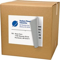 CCMLLG050 adhesive shipping label (5)