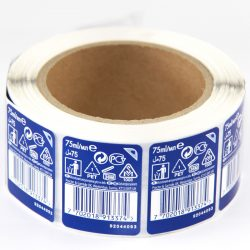 CCPPH050 double layer label sticker