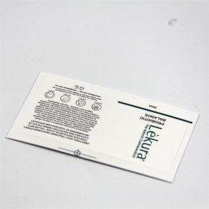Label nga botelya sa shampoo