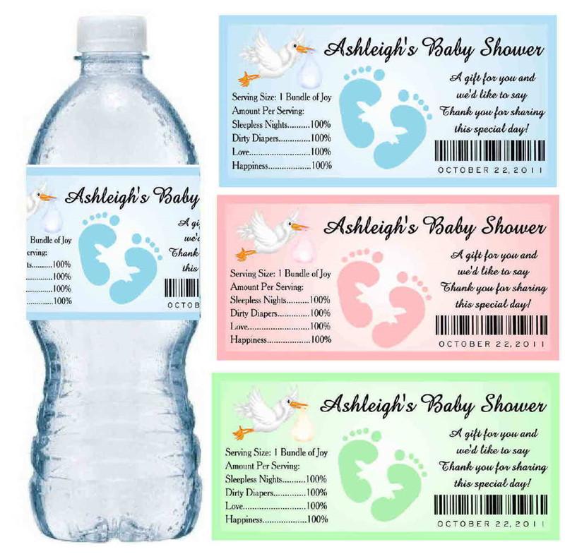 CCPPW040 shrinkable water bottle label