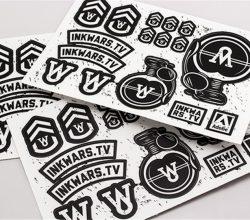 CCRP072 cartoon label sticker