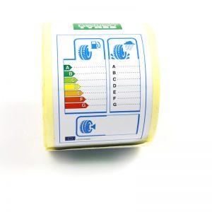 Label sa sticker sa ligid sa CCTLPP060