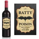 Self adhesive sticker label for wine bottle