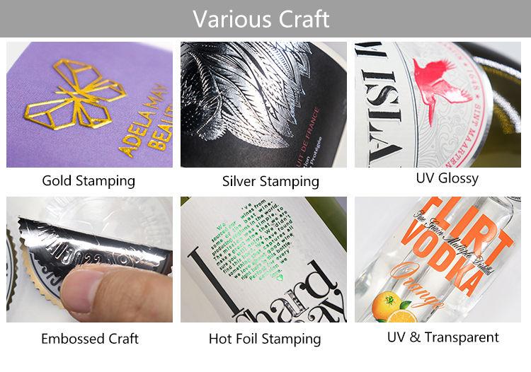 Custom adhesive transparent sticker
