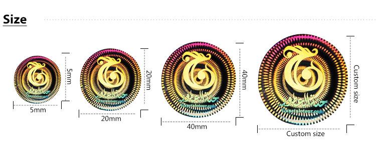 Custom printing glitter sticker sheet, holographic rainbow transparent labels