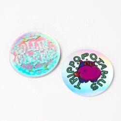 Ang pasadya nga pag-print nga selyo nga sticker sticker nga balde nga label nga mga sticker sa payong mga sticker sa logo 1