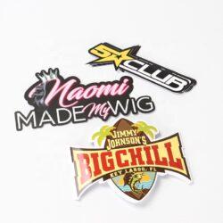 Ang gipasadya nga sticker sa selyo nga sticker nga balde nga label nga mga sticker sa payong mga sticker sa logo 6