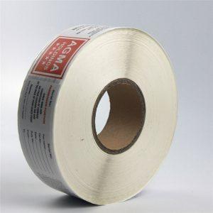 Rekta termika papera etikedo