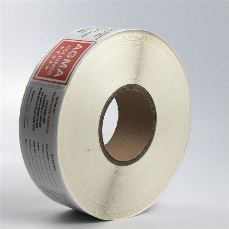 Neposredna etiketa s termalnim papirjem