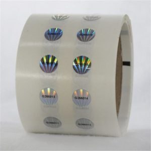 Security VOID hologram labels