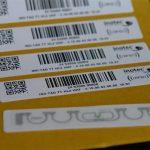 Standard card active label