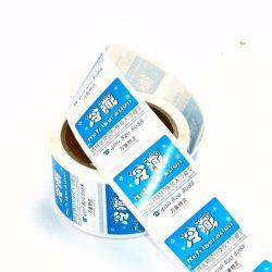 Etiketten til overføringspapir