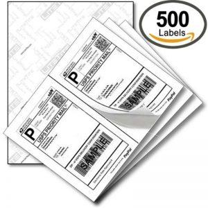 CCUSS050 8.5 x 11 Label penghantaran ekspres standard AS