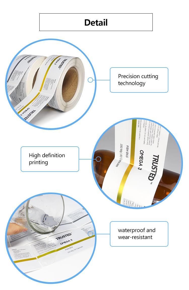 adhesive vinyl waterproof label