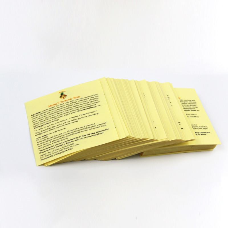 label bahan filem