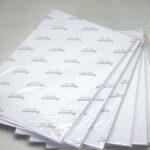 Best selling white waterproof matte A4 inkjet vinyl sticker