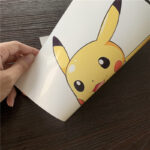 High quality matte A4 size inkjet paper sticker