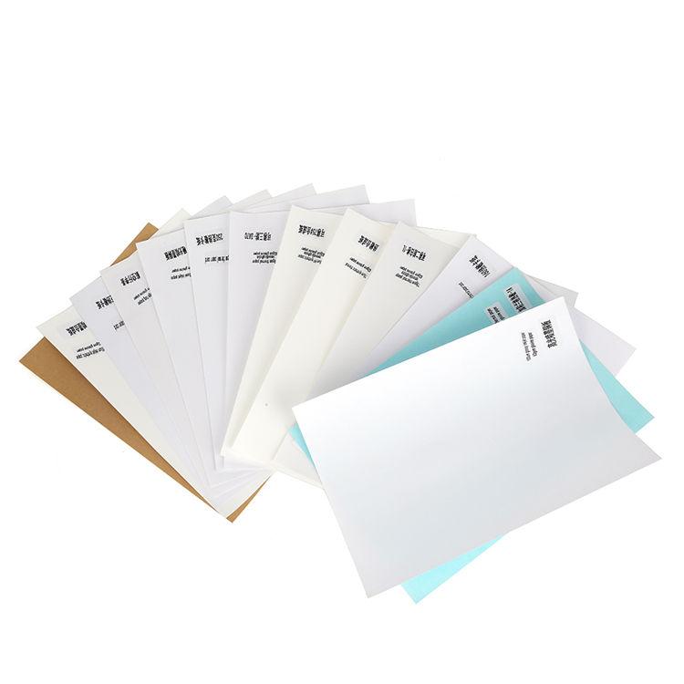 self adhesive A4 matte inkjet sticker paper