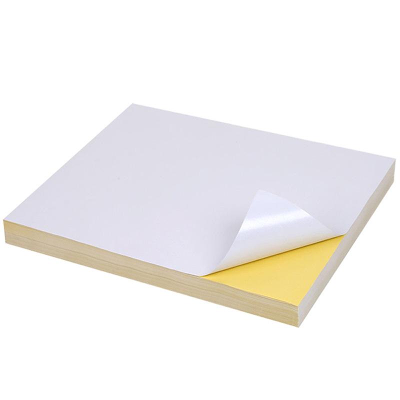self adhesive matte A4 vinyl sticker