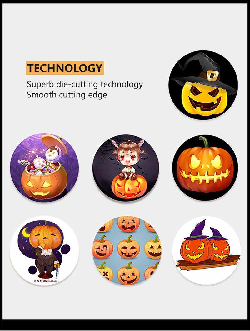 vinyl waterproof halloween sticker